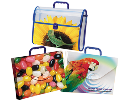 plastic print handy bag